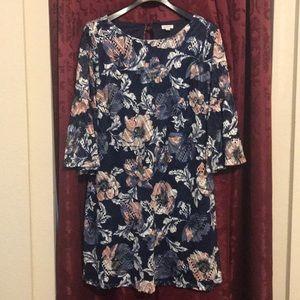 Bell sleeve dress